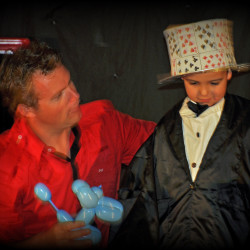 ballon petit magicien
